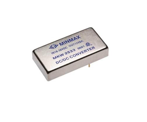 MKW2527 - Conversor Dc-Dc Encapsulado De 15W ( 9-18 Vdc ) Saída ( 15Vdc @+/-500Ma )