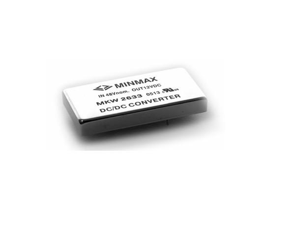 """MKW2632 - Conversor Dc-Dc Isolado, Encapsulado De 15W, Entrada """"Wide Range"""" (18~ 75 Vdc) Saída (5Vdc @ 3000Ma)"""