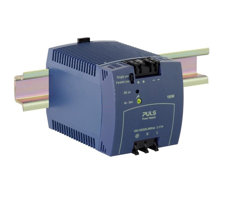 ML100.105 - Fonte De Alimentação 100W, Entrada 120Vac/220Vac 290Vdc Sel Auto, Saída 48Vdc 2.1A, Op Paralelo