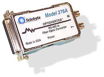 Modelo 276A – RS-485 para Conversor de Fibra Ótica