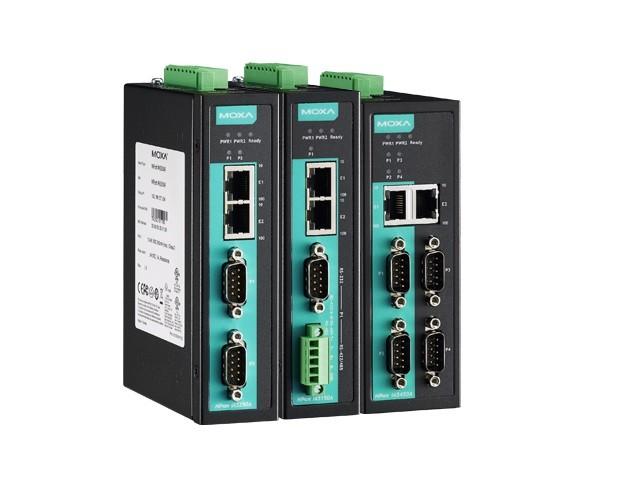 NPORT IA5150AI - Módulo Servidor Rs-232/422/485 1 Porta Industrial, Isolação 2Kv,Proteção Surto Serial/Lan/Alimentação, 2 10/100Baset(X)