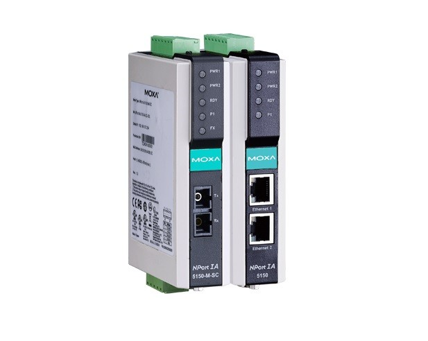 NPORT IA5250A - Módulo Servidor Rs-232/422/485 2 Portas Industrial, Proteção SurtoSerial/Lan/Alimentação, 2 10/100Baset(X)