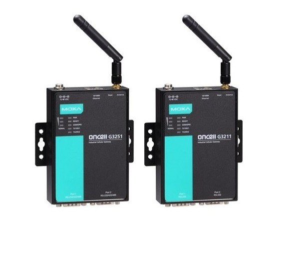 ONCELL G3151 - 1-Port Quad-Band Industrial Gsm/Gprs Ip-Modem, Rs-232/422/485, Db9Male, 12-48 Vdc