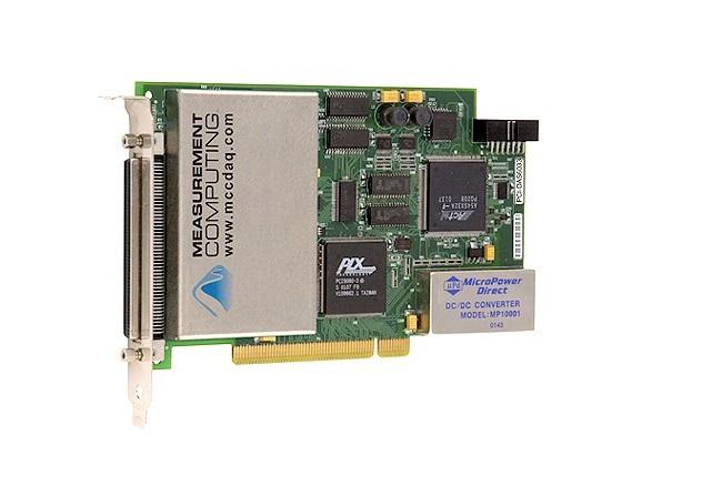 PCI-DAS6033 - Cartão Pci, 64 Canais Analógicos Entrada 16-Bit 100Khz, 8 Canais Digital Ttl Entrada/Saída