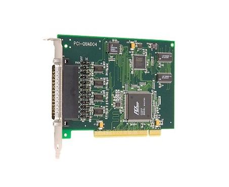 PCI-QUAD04 - Placa Pci 4 Canais Para Encoder Do Tipo Quadratura