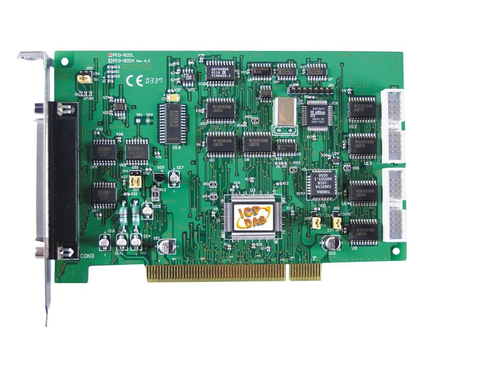 PIO-821L - Cartão Pci Multifunção, 16 Canais A/D 12-Bit 45Ks/S, 1 D/A 12-Bit