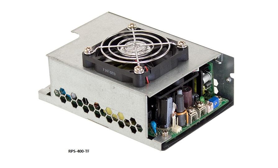 RPS-400 - Fonte de Alimentação Chaveada 400 Watts, Função PFC, Certificação Médica