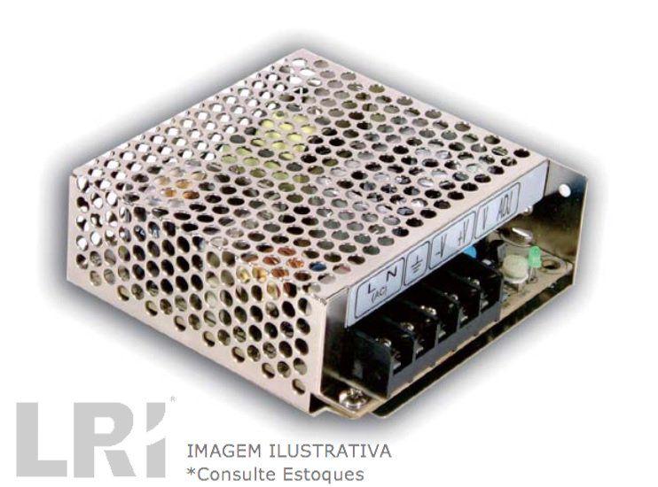RS-50 - Fonte de Alimentação Chaveada Industrial em Miniatura de Baixo Custo de Saída Única de 50Watts