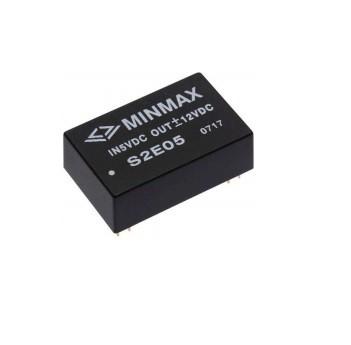 """S2E07 - Conversor Dc-Dc """"Alta Isolação"""" Encapsulado De 1.5W, Entrada (10.8 ~13.2 Vdc) Saída (5Vdc @ 300Ma)"""