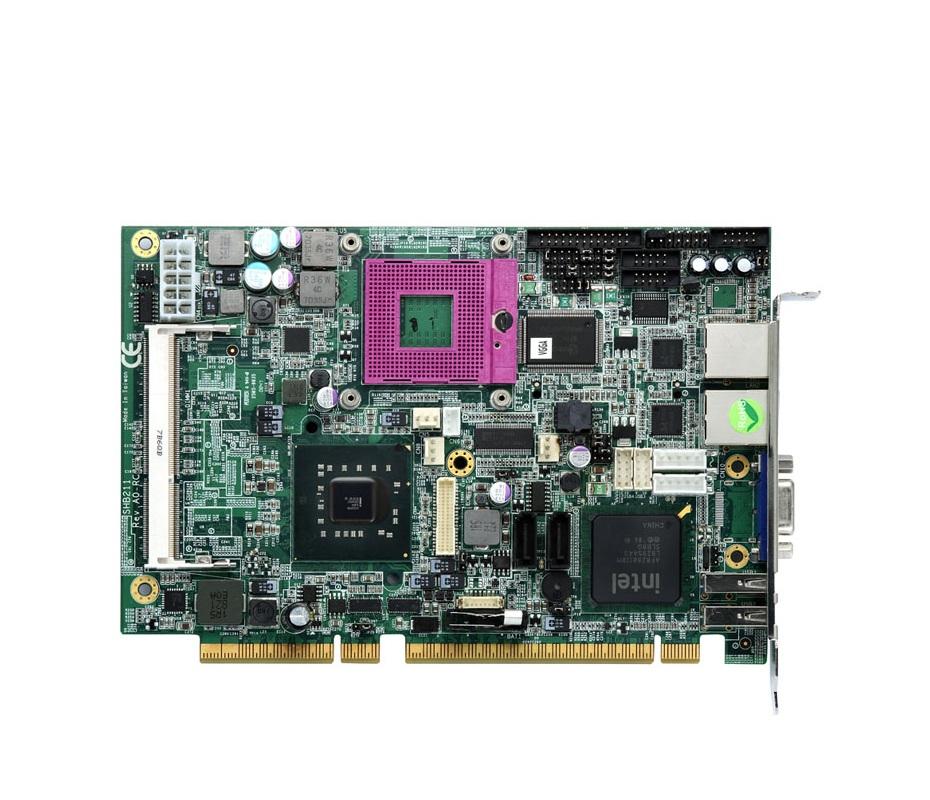SHB211VGGA - Placa Mãe Picmg 1.3 Half-Size, Cpu Card C/ Crt/Lvds Lcd, 2 10/100/1000Bps E Audio