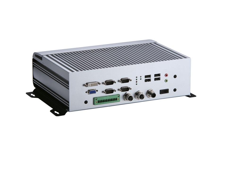 tBOX320-852 - Pc Box Embarcado Fanless Proc Intel Core 2 Duo Sp9300 2.26 Ghz Processor, 4 Com, 4 Usb, Cf, Dual, Suporte Hdd, 2Gb Dram