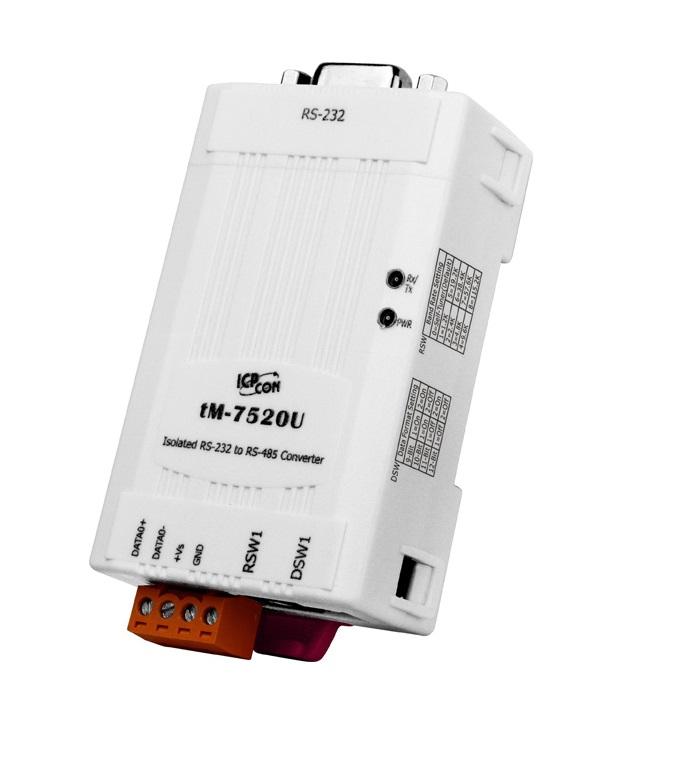 TM-7520U - Módulo Conversor Rs-232 Para Rs-485, Com Isolação 2500Vdc Na Rs-232