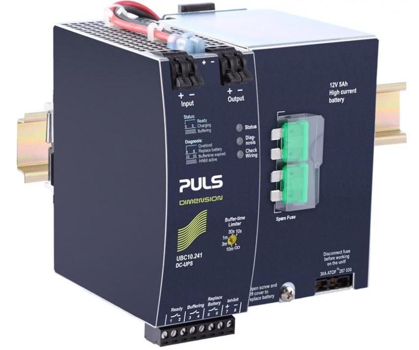 UBC10.241 - DC-UPS, 24Vdc, 10A Com Bateria Interna De 5Ah