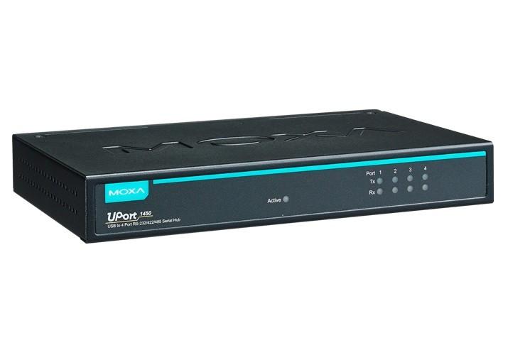 UPORT 1450 - Conversor Usb Para Serial, 4 Portas Rs-232/422/485, Conectores Db9Macho