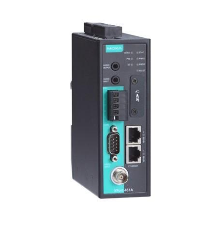 VPort 461A - Codificador De Sinal De Vídeo Com 1 Canal De Entrada E Saída AtravésDe Interface Ethernet 2 Portas 10/100Baset(X)