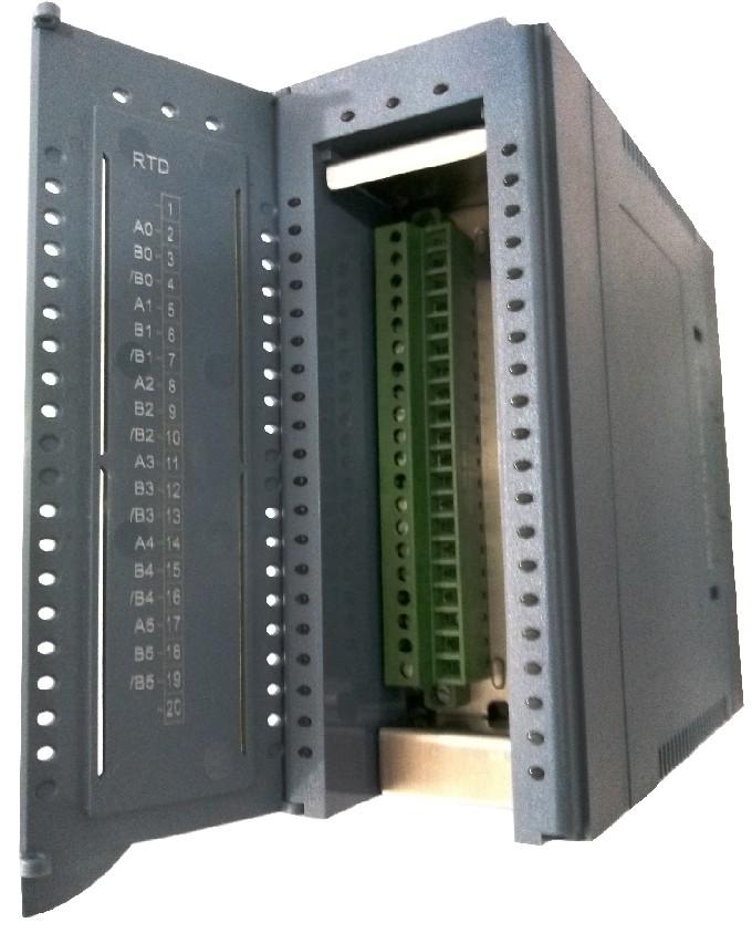 W-M1B103 - Módulo RS-485 Modbus RTU, 8 Canais Analógicos - mV, V, mA e Termopares