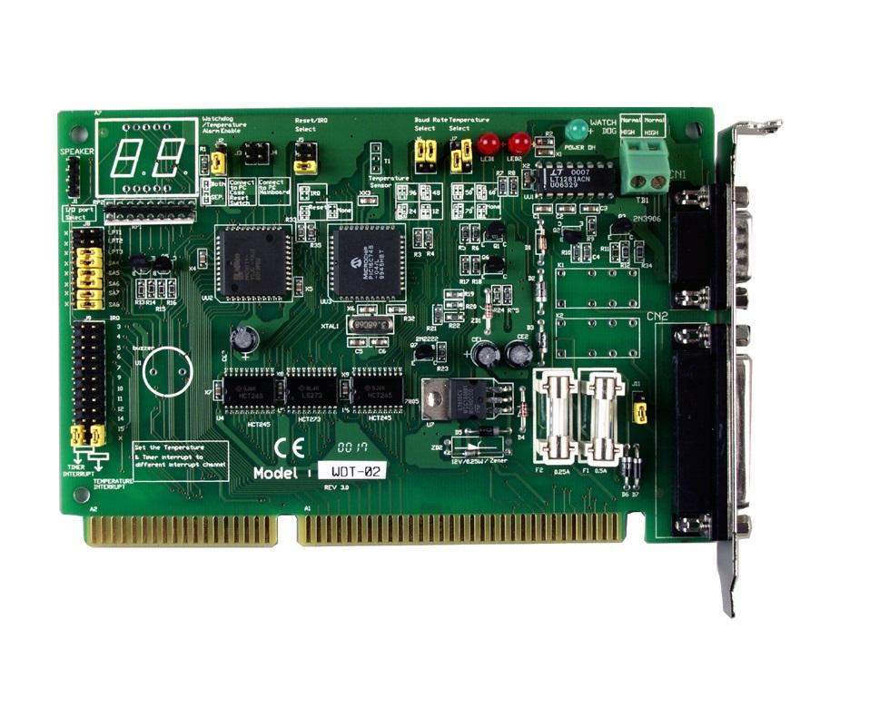 WDT-02 - Cartão Isa Cão-De-Guarda, Monitorarfalhas De Hardware De Pc