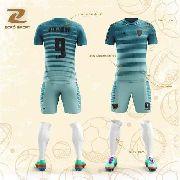 Kit C/20 Uniformes Camisa Calção Personalizado Zoro Sport