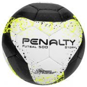 Bola de Futsal Penalty Storm Costurada a Mão 7