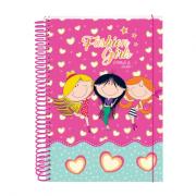 Caderno Fashion 15 Matérias 300 Folhas Dac - 2352RS