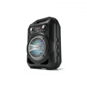 Caixa De Som Portátil 4 Polegadas Bluetooth/FM/SD/P2/USB Pre