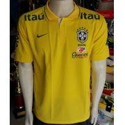 Camisa Seleção Brasileira Polo Masculina Primeia Linha