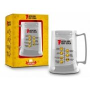 Caneca Gel 300ml Funny - 7 Motivos para Beber Cerveja