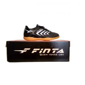 Chuteira Futsal Finta Infantil Total Control PVC
