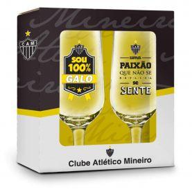 Conjunto 2 Taças Atlético Mineiro 300ML