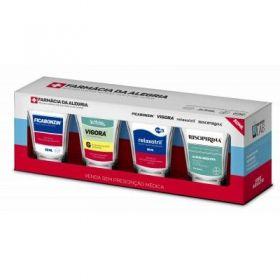 Conjunto 4 Copos Dose - Sátiras Remédios - Remedios 2