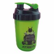 Garrafa Shaker 600ml Verde/Amarela - ATRIO - ES062