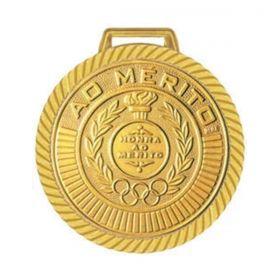 Kit C/10 Medalhas Rema Honra ao Mérito 60mm com Fita