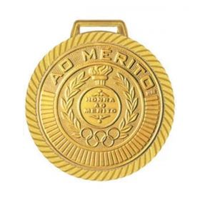 Kit C/30 Medalhas Rema Honra ao Mérito 60mm com Fita