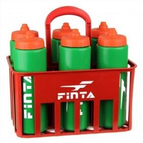 Kit Cesta C/6 Squeeze 1L Válvula Automática + Suporte Finta