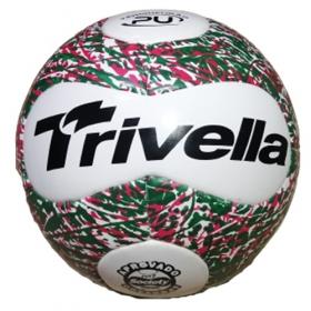 Kit com 3 Bolas Futebol Society Trivella PU