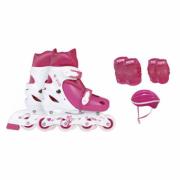 Kit Roller + Joelheira + Cotoveleira + Capacete Infantil - R