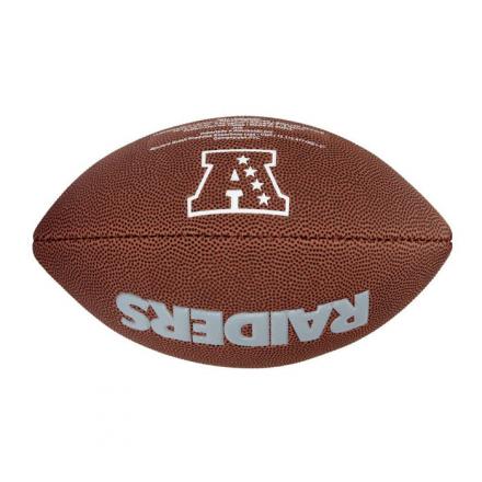 Bola De Futebol Americano NFL Team Logo Jr Oakland Raiders W