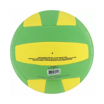 Bola de Vôlei Super Soft Play Amarelo/Verde Wilson - WTH3507