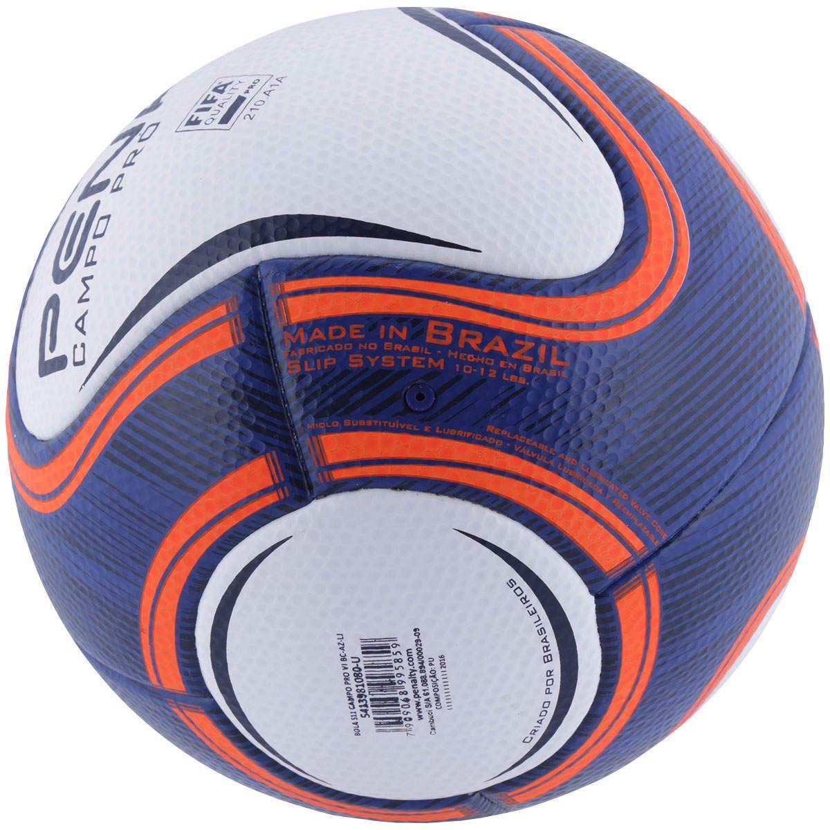 Bola Campo Penalty S11 Pro 6 Campeonatos Estaduais