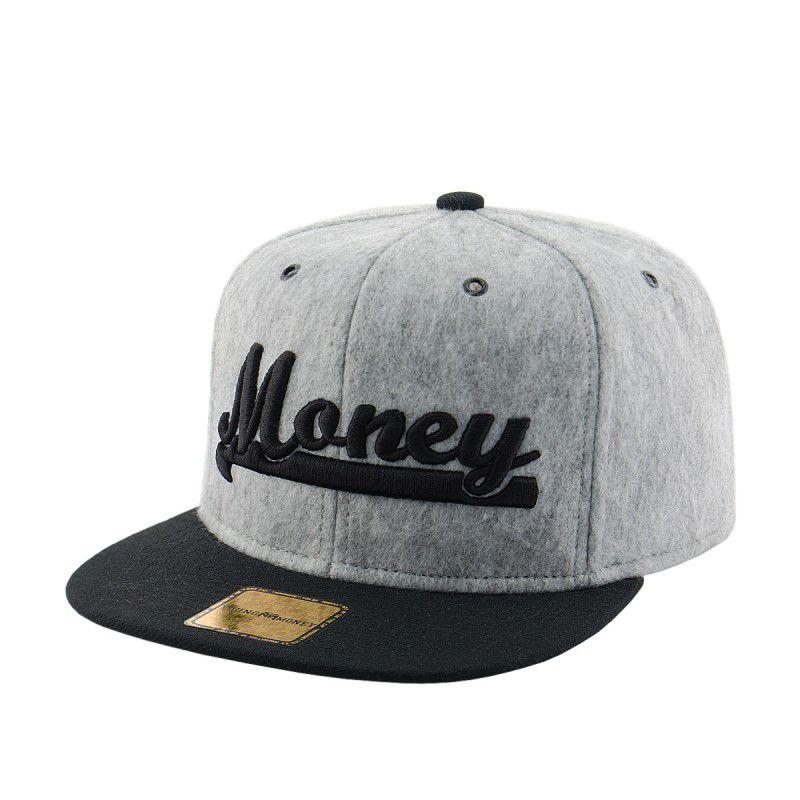 Boné Aba Reta Snap Money + Embalagem