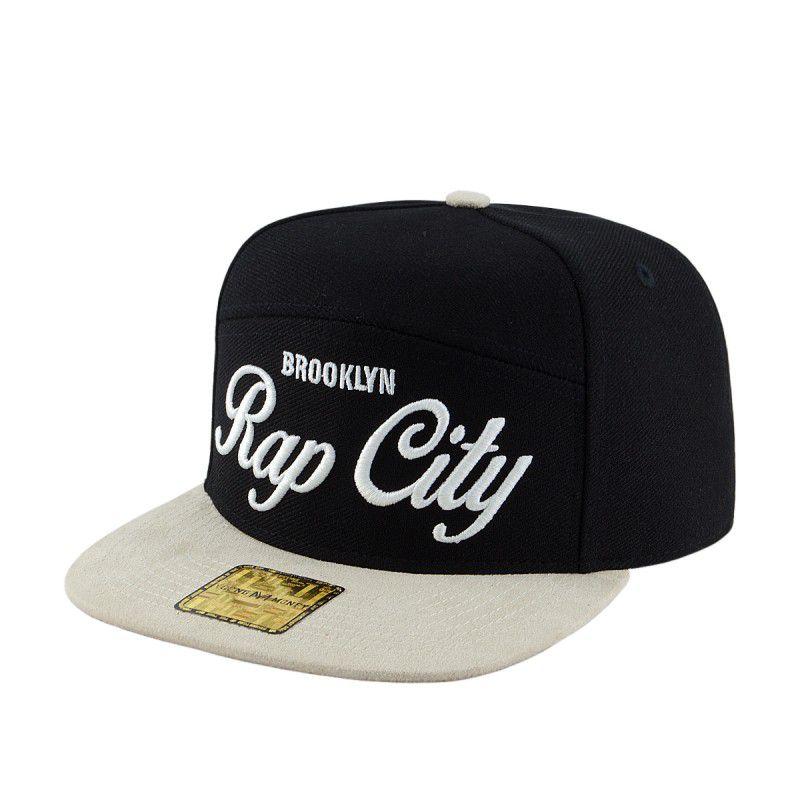 Boné Young Money Aba Reta Strap Rap City