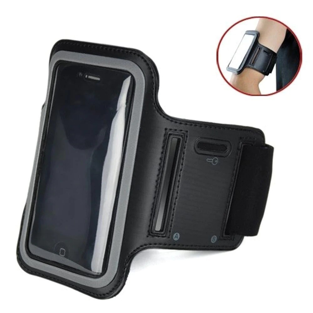 Braçadeira Mbfit Smartphone e Porta Chave Arm Band Universal MB84101