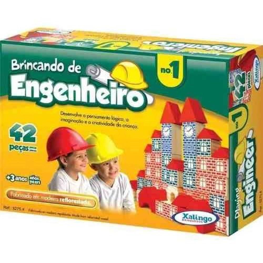Brincando De Engenheiro I 42 Peças Xalingo