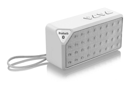 Caixa de Som Bluetooth Music 8W RMS Branco Multilaser - SP17