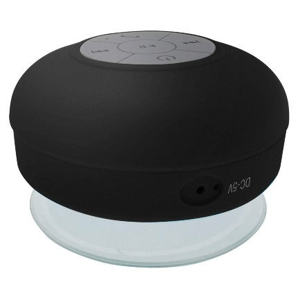 Caixa de Som Multilaser Bluetooth Shower Speaker a Prova D'Á