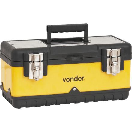 Caixa Metálica Plástica Para Ferramentas Cmv 0380 Vonder