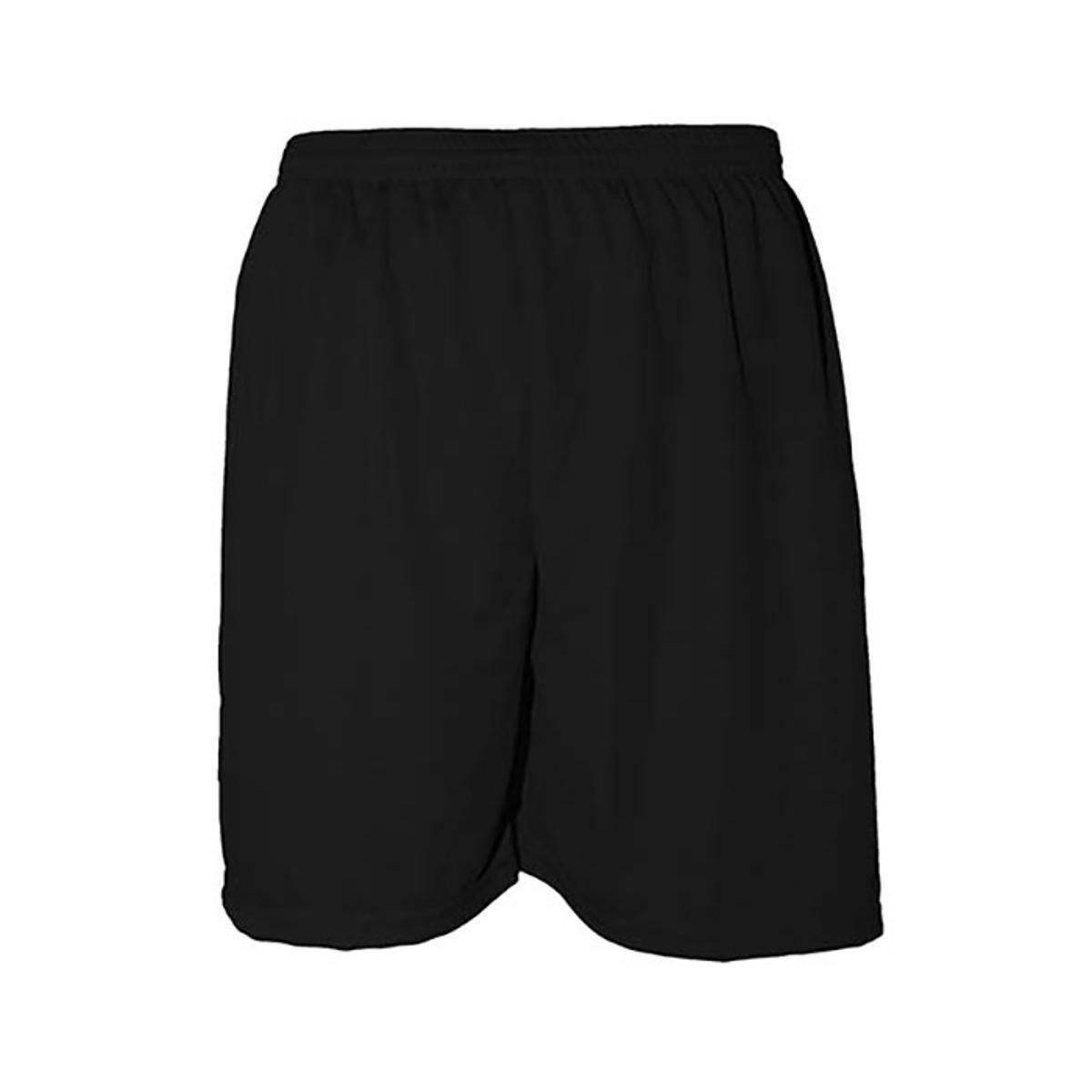Kit C/6 Calções De Futebol Kanga Sport Liso Adulto