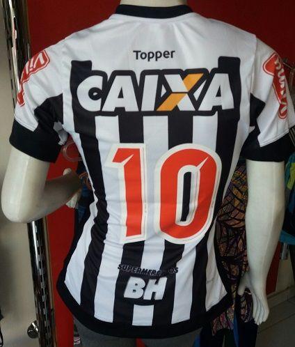 Camisa Atletico Mineiro 2017/2018 Feminina Primeira Linha