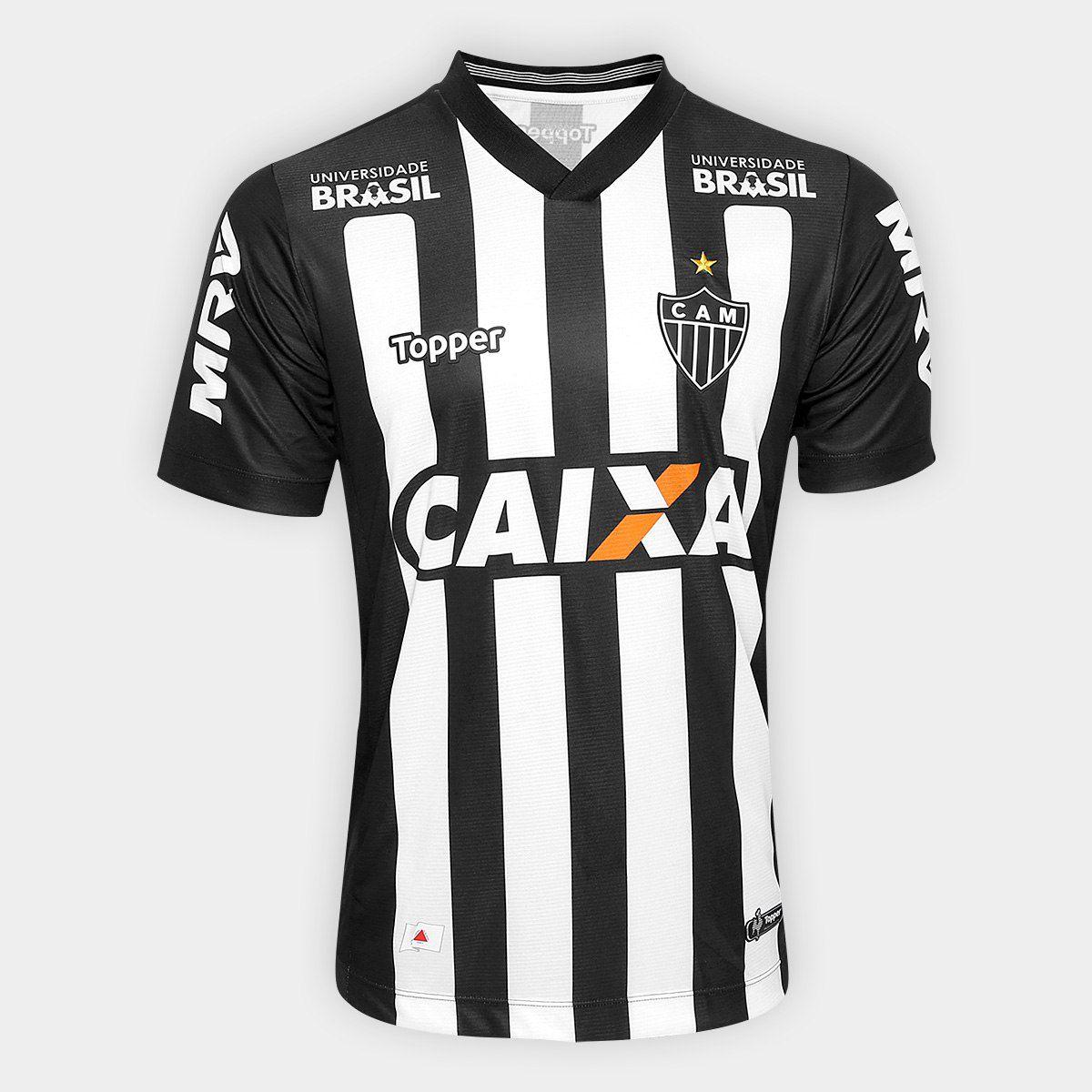 5ba033d7d7 Camisa Atlético Mineiro 2018 S Nº Topper Masculina - Energia Esportes