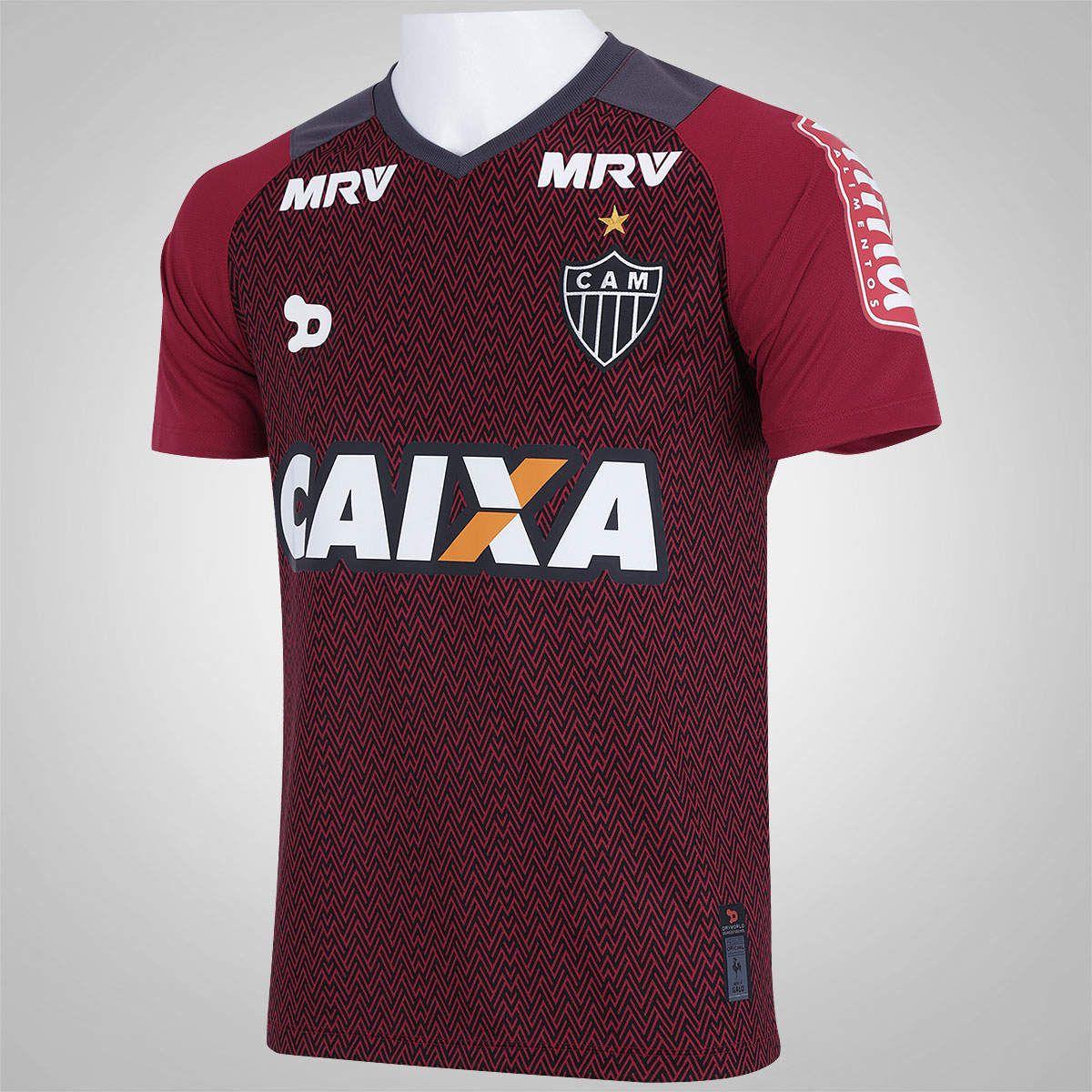 Camisa Atlético Mineiro Goleiro 3 Dryworld 2016 Nº1